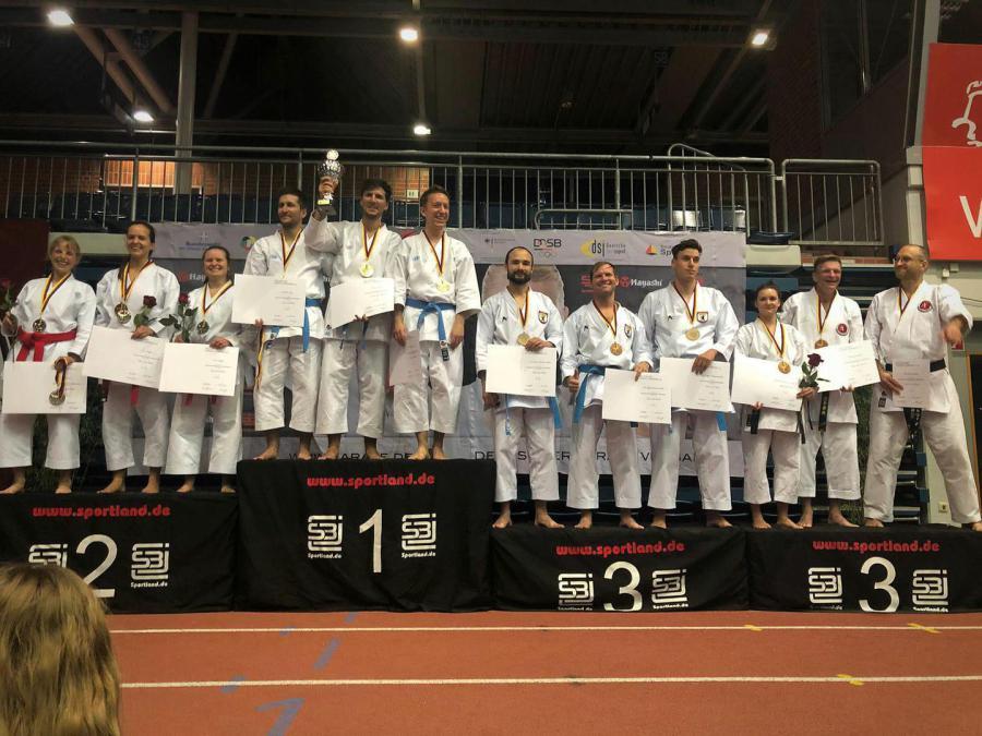 Deutsche Karate Meisterschaft der Masterklasse in Bielefeld